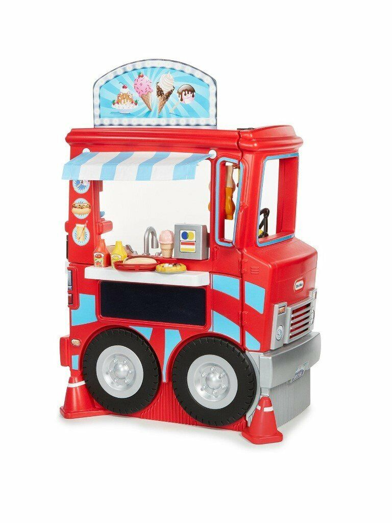 250e14bdcf03 BNIB LITTLE TIKES 2 IN 1 FOOD TRUCK   KITCHEN (MISSING FOOD PART`S) GREAT  FUN FOR SMALL CHILDREN