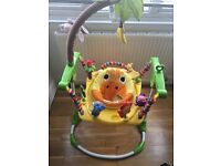 Jumperoo style baby play gym SOLD *****
