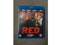 Red blu-ray. In good working condition.