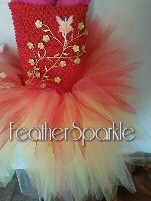 fairy dress fairy costume fire fairy faery festival fairy festival fairy tutu](Fire Fairy Costumes)