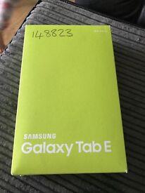 Samsung galaxy tab E black