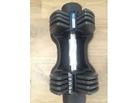 12.5kg adjustable Dumbbell pro fitness weights