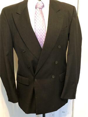 Linea Uomo Italian Made Dark Gray Men's Suit 44R Italian Men Suits