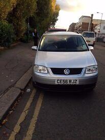 VW TOURAN 1.6 S 2006 7 SEAT £2790.00