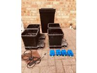 used 4 pot Autopot system 15L pots Collection only Cheshunt Hydroponics
