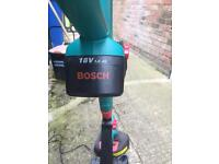 Bosch 18v cordless strimmer