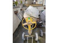 Choice of 2 BENFORD 5 3 & 1/2 diesel cement mixers