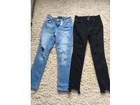 Brand new ripped jeans size 12