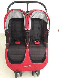 City Mini Baby Jogger Double Pram Pushchair