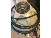 Lazy Spa Vegas hot tub filter and cover in good used condition