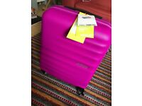 New american tourister suitcase