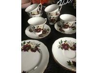 Crown Royal tea service