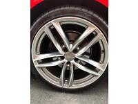 Audi wheels 20 RS6 A6 A7 A4 volkswagen seat skoda