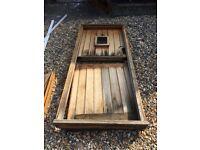 Oak external stable door