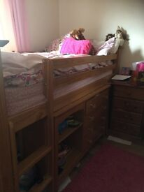 Julian Bowen Cabin Bed and furniture