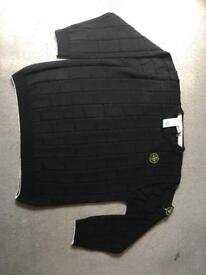 Black stone island jumper