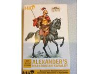 Hat plastic model soldiers Alexander's Macedonian army 1/72 scale
