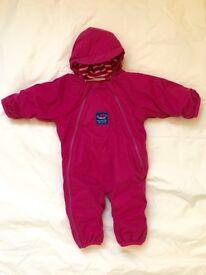 Jojo Maman Bebe Snowsuit 3-6 months