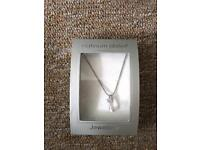 Platinum plated M&S necklace