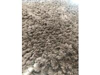 Dunelm silver jewel shaggy rug
