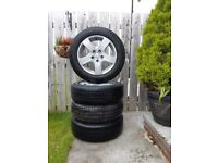 Alloys Wheels 16 4 x New tyres