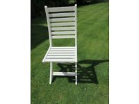 NEW Wood Garden/Occassional Chair -Folding/Collapsible -New in Box