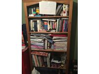 Pine book shelf unit