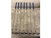 Cobra F8 One Length Irons 5-GW (Stiff Shaft)