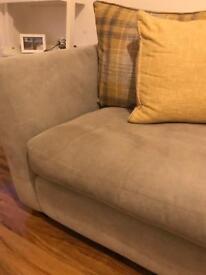 Dansk grey three seater sofa