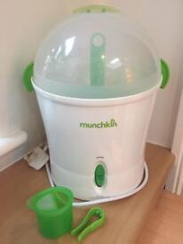 Munchkin steam steriliser - as new