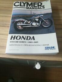 Honda 1300 VTX Workshop Manual