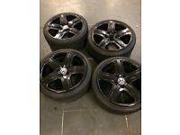 19 inch alloys AND tyres- Very good condition.