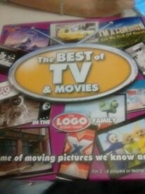 Logo Board Game - Best of TV & Movies - never used, been in cupboard