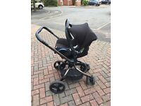 Mothercare orb pram/ travel system