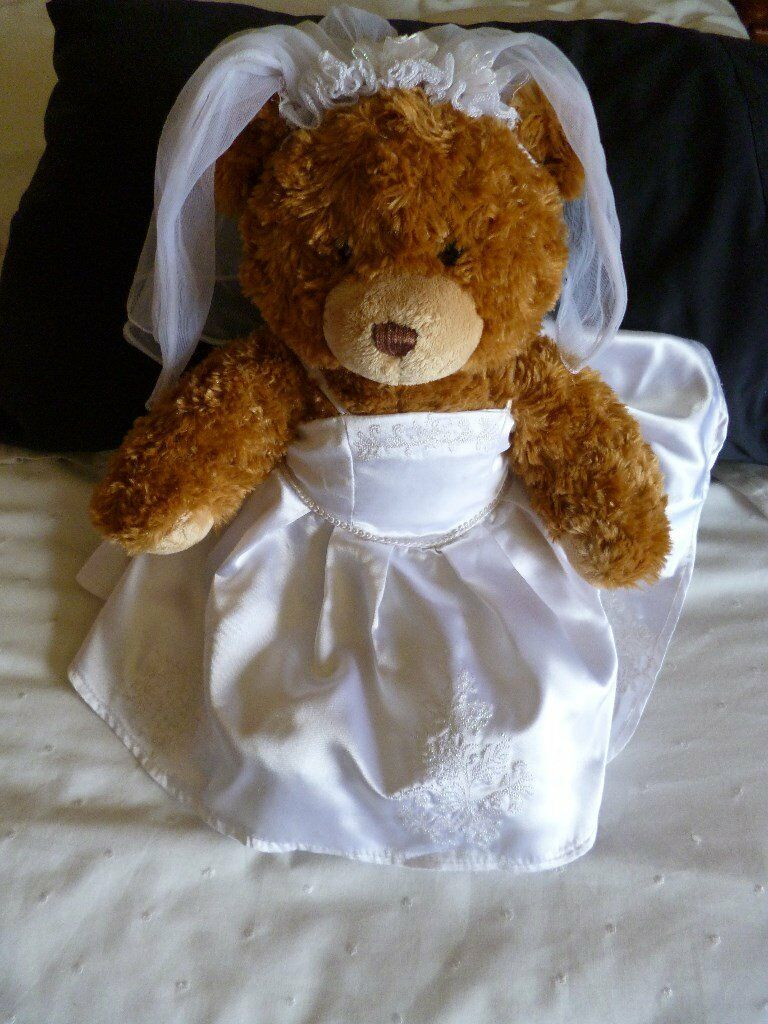 Build A Bear In Wedding Outfit Plus Evening Dress Vgc