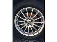 "Jaguar XF 18"""" alloys"