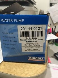 BMW water pump brand new.