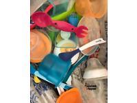 Free Bag of baby feeding items