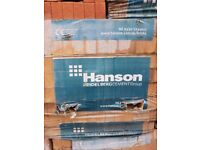 packs of bricks .hansons .buyers to collect and loaded with fork lift .reds and yellows and 170