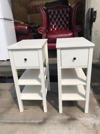 Fantastic pair of ikea bedside cabinets can deliver
