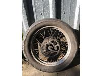 Derbi senda wheels