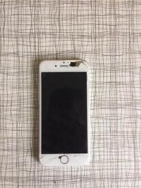 iPhone 6 64gb unlocked smashed cracked working