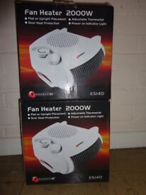 x2 Brand New Fan Heater £5 for the lot