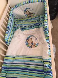 baby cot bedding duvet