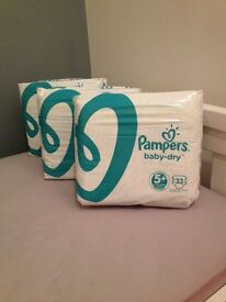 Pampers Baby Dry 5+