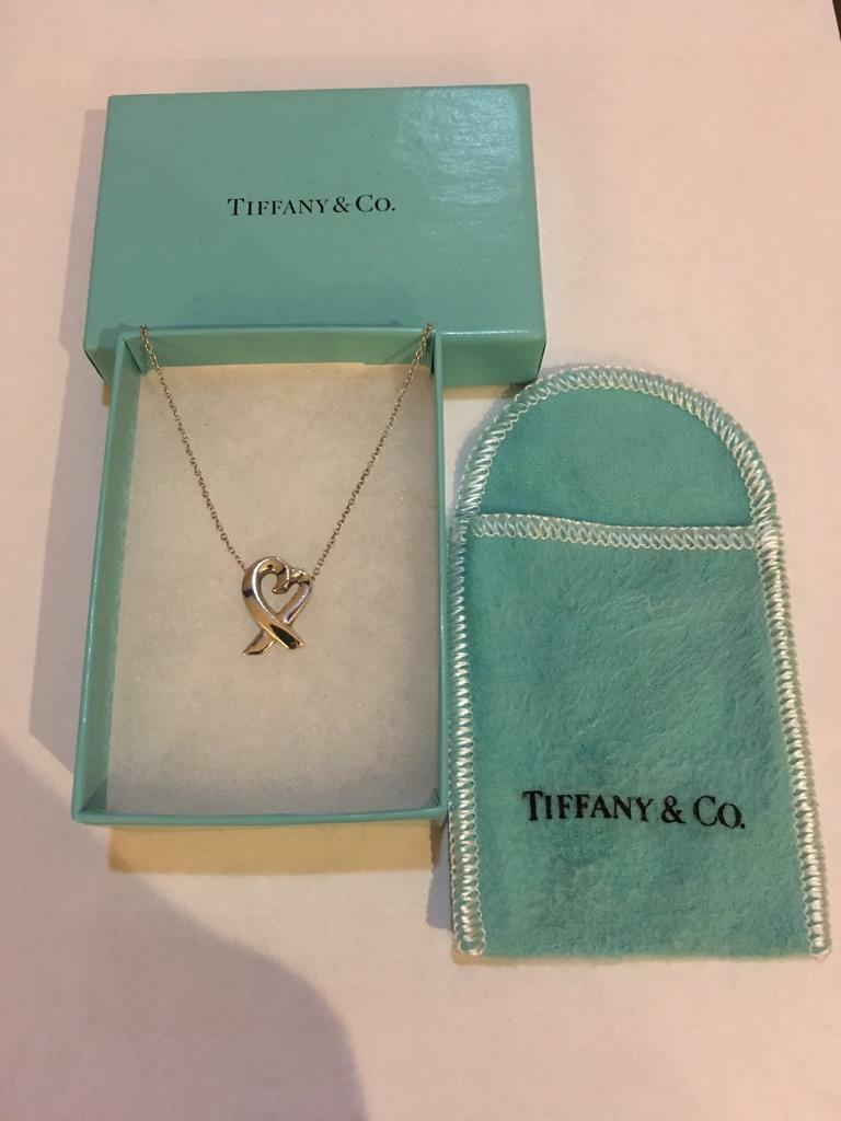 d081a65f954 For sale authentic Tiffany & Co Paloma Picasso Loving Heart pendant ...