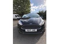 2017 Ford Fiesta zetec black only 2800 miles
