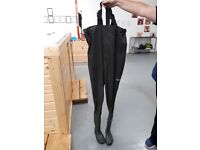 Green Unisex Waders