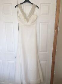 Size 8 Allure wedding dress