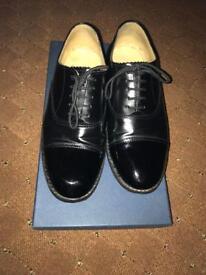 Cadet parade shoes